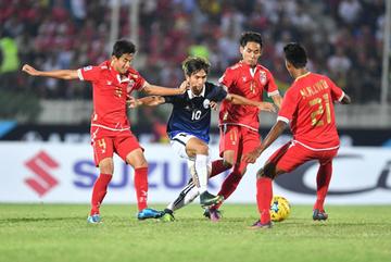 Video bàn thắng Myanmar 3-1 Campuchia