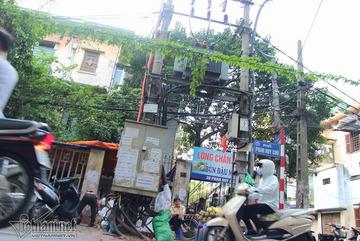 Không để dân sử dụng trạm điện làm lều quán kinh doanh