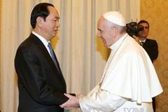 Chủ tịch nước hội kiến Giáo hoàng