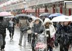 Tokyo hứng tuyết rơi tháng 11 lần đầu trong 54 năm