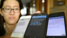 Loại 10 triệu sim ảo: Tin nhắn rác bị 'chặt tay'