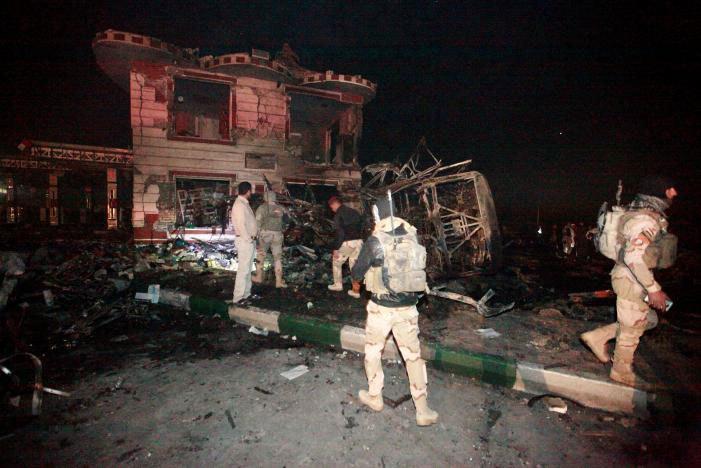 Đánh bom liều chết ở Iraq, ít nhất 100 người chết
