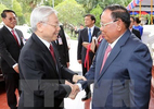 Tổng bí thư hội đàm với Tổng bí thư, Chủ tịch nước Lào