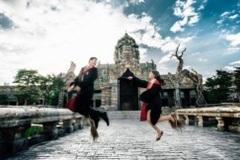 Thích thú với bộ ảnh cưới theo style Harry Potter của cặp đôi Việt