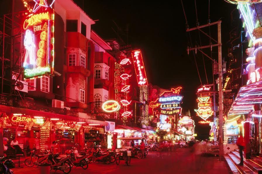gái mại dâm, phố đèn đỏ, Thái Lan, Pattaya, Băng Cốc, công nghiệp tình dục, công nghiệp mại dâm