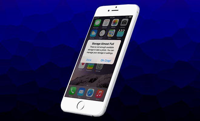 Tuyệt chiêu mới tăng bộ nhớ cho iPhone