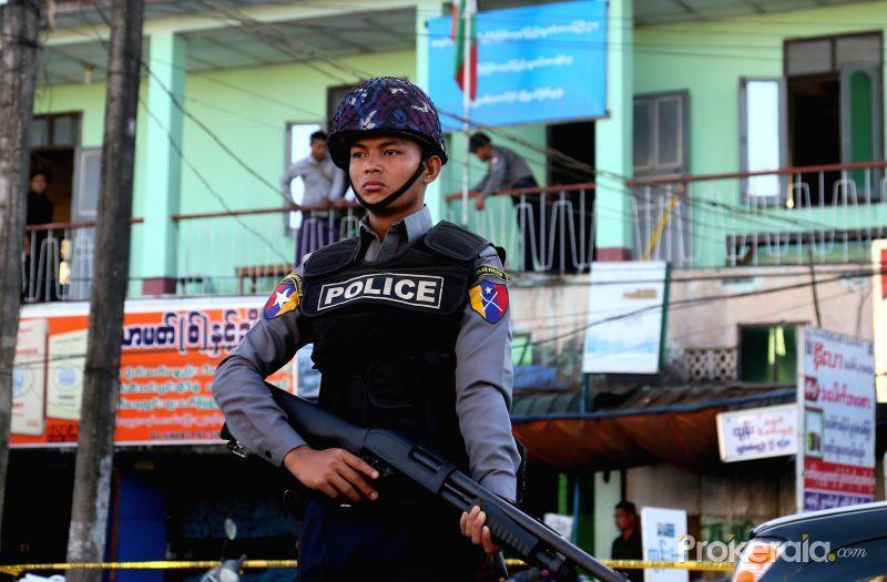 Bom nổ liên tiếp ở thành phố lớn nhất Myanmar