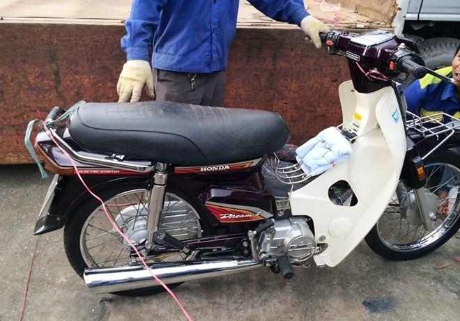 Ngắm Honda Dream II hàng hiếm 140 triệu đồng chưa bán ở Sài Gòn