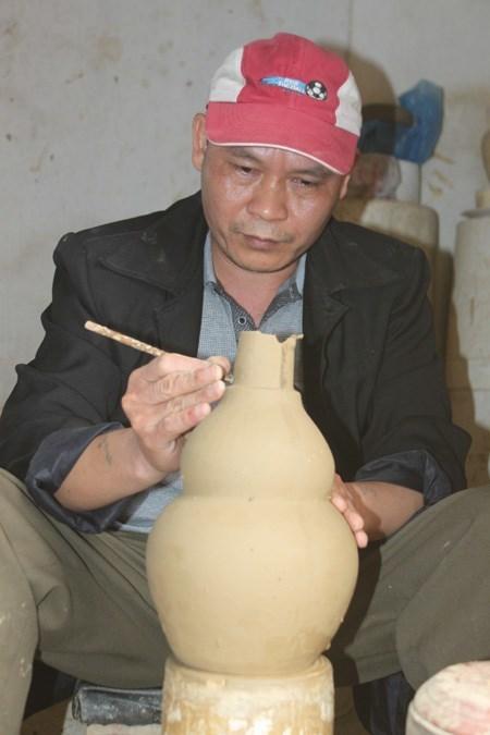 Bình gốm bí truyền biết thải độc rượu ở Hà Nam