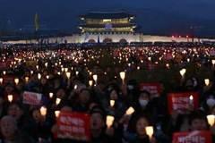 Sắp biểu tình lớn chưa từng có ở Hàn Quốc