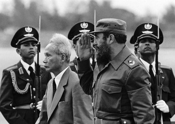 Fidel Castro: Vì VN, Cuba sẵn sàng hiến dâng cả máu mình