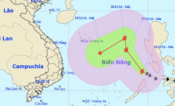 Bão số 9 giật cấp 12 trên biển Đông, đất liền mưa cực lớn