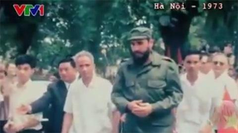Lần đầu tiên Fidel Castro đặt chân đến Việt Nam