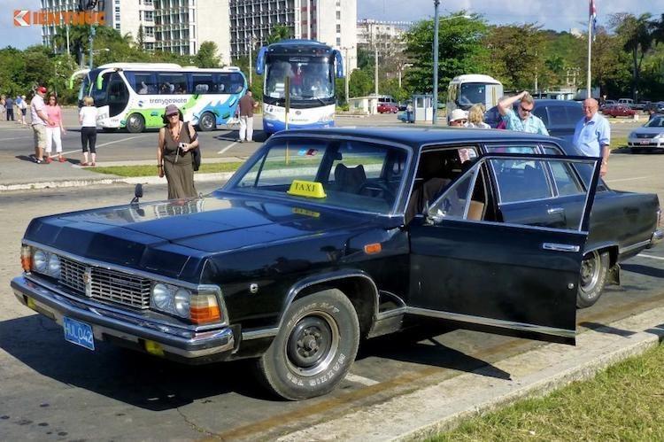 "Limousine của ông Fidel Castro ""tái sinh"" thành taxi tại Cuba"