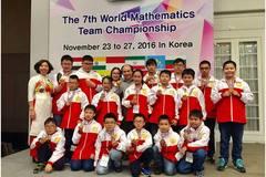 Học sinh Hoàn Kiếm lập kỉ lục tại kì thi Vô địch các đội tuyển Toán quốc tế