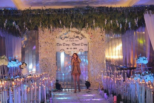 đám cưới chục tỷ, đại gia, Hưng Yên, đám cưới xa hoa, con đại gia, thiếu gia, ca sỹ, khách mời, khách VIP