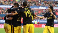 Griezmann tịt ngòi, Atletico vẫn thắng tưng bừng
