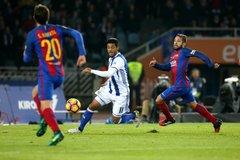 Video bàn thắng Sociedad 1-1 Barca