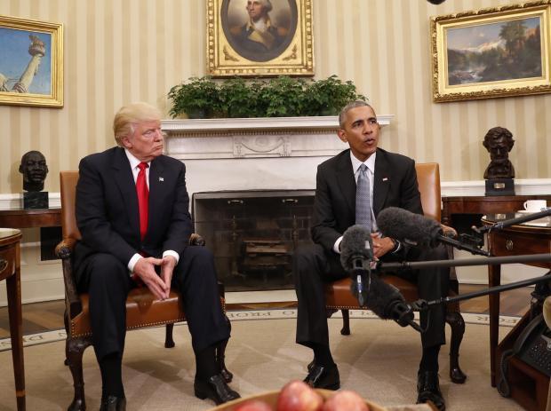 Obama 'dạy thêm giờ' cho Trump