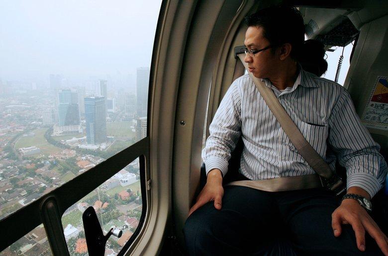 trực thăng, tắc đường, Jakarta, kẹt xe