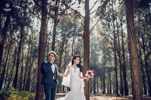 Ảnh cưới đẹp lung linh của hotboy điển trai nhất 'Nhật ký Vàng Anh'