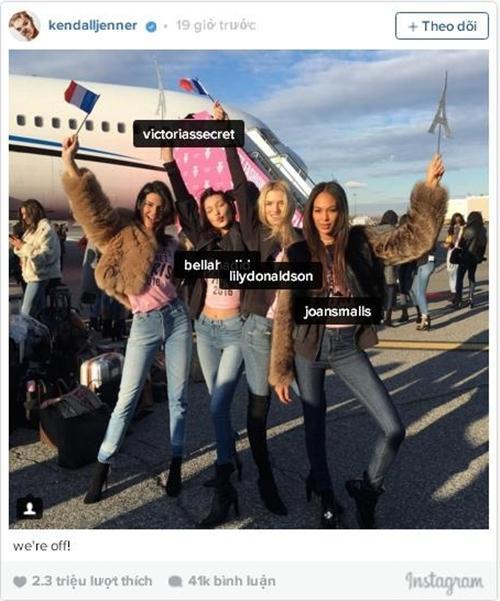 Victoria's Secret show,Kendall Jenner,Bella Hadid