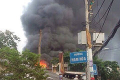 Cháy lớn ở Sài Gòn, 2 người tử vong