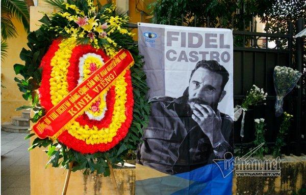 Việt Nam quốc tang 1 ngày tưởng nhớ lãnh tụ Fidel Castro