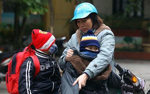 Thêm khí lạnh: Hà Nội rét 12 độ, miền Trung mưa to