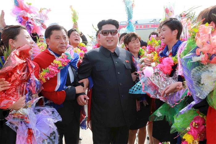 Phong cách đặc biệt của Kim Jong Un