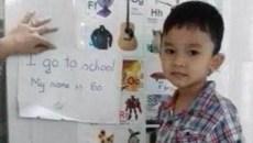 Chưa được dạy, bé 4 tuổi đã đọc tiếng Anh vanh vách