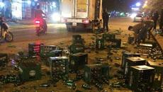 Quên không đóng cửa, tài xế xe tải đau đớn nhìn hậu quả
