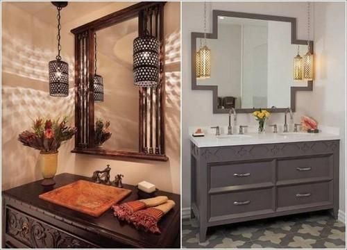 Những ý tưởng độc đáo mang ánh sáng ấm áp đến cho phòng tắm mùa đông