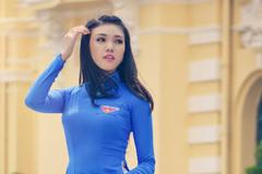 Nữ xạ thủ 9X bén duyên với nghề mẫu