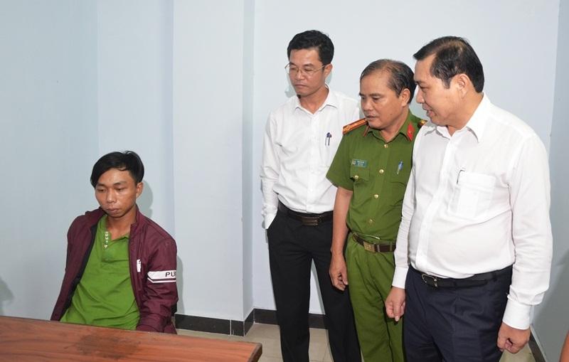 Vụ cưỡng bức chủ quán cà phê: Chủ tịch Đà Nẵng gặp nghi can