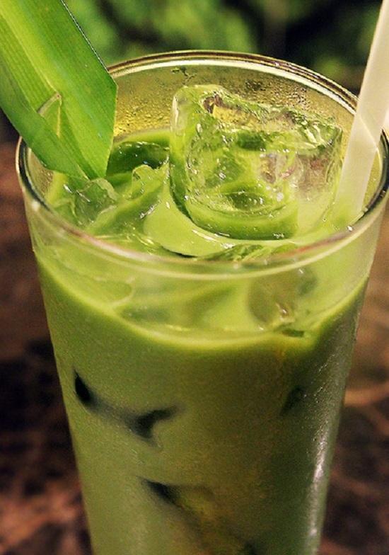 Trà sữa, trà xanh, matcha, thạch rau câu, bột trà xanh, thơm ngon, béo ngậy,