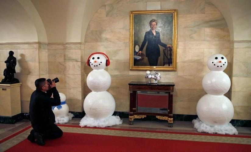 Nhà Trắng trang hoàng lộng lẫy đón Giáng sinh