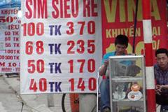 Dân buôn sim xuống đường bán hàng tồn, giữ số VIP