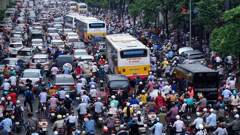 giao thông, giao thông Hà Nội, giờ cao điểm, thu phí ô tô, kẹt xe hà nội