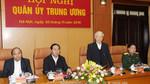 Tổng bí thư, Chủ tịch nước và Thủ tướng dự hội nghị Quân ủy TƯ