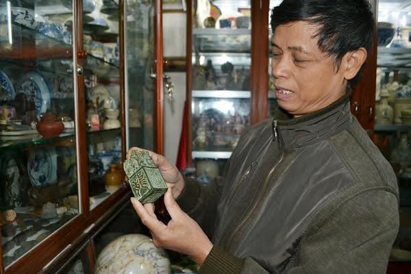 Ấn tín đào được ở Nghệ An chỉ là đồ lưu niệm