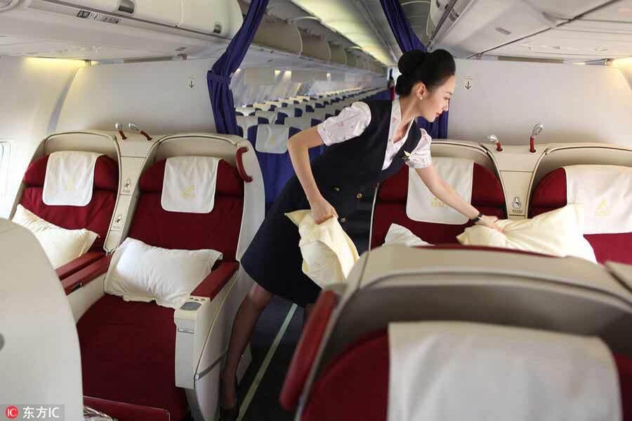 Nữ tiếp viên hàng không xinh đẹp nhất thế giới