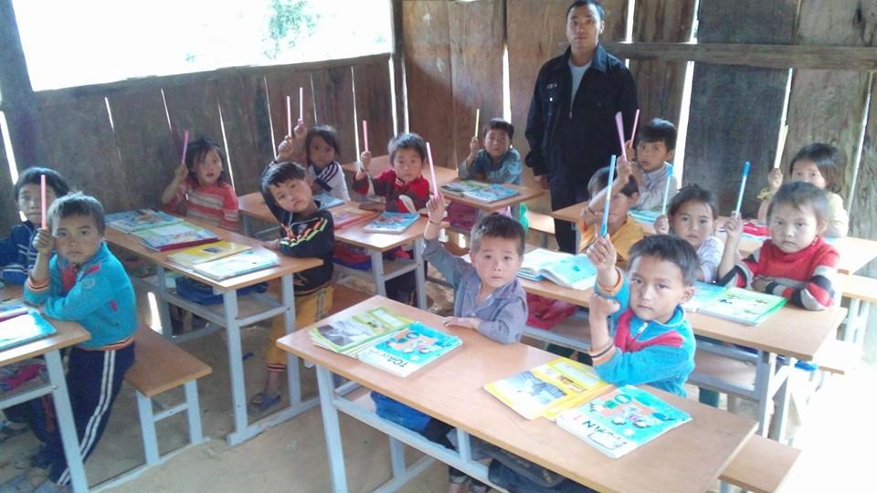 Ngôi trường hơn 30 năm chưa có cô giáo nào