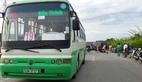 Xe buýt cán chết người phụ nữ ở giữa cầu vượt Sài Gòn