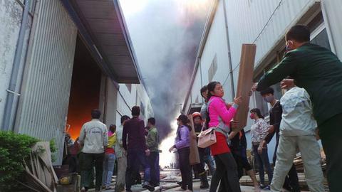 Nhân chứng vụ cháy