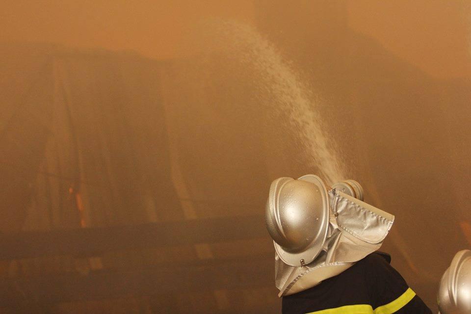 Cháy lớn khu công nghiệp Ngọc Hồi: Do hàn xì - ảnh 5