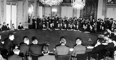 Các hiệp ước phân chia lại địa chính trị thế giới