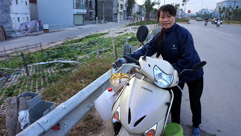 Giữa Hà thành trồng rau hốc đá như dân H'Mông