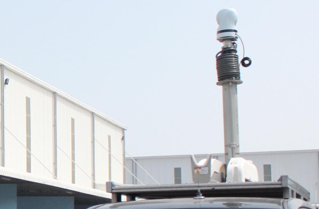 Ô tô đặc nhiệm Hải quan camera cao 7m khiến buôn lậu lo sợ