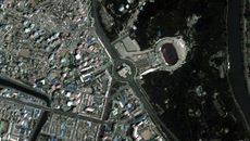 Hình ảnh cực hiếm về Bình Nhưỡng nhìn từ vũ trụ